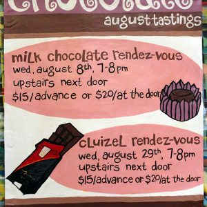 AugustChocolateTastings