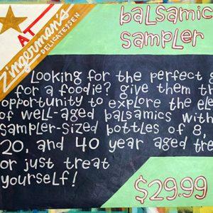 BalsamicSampler