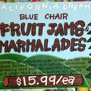 BlueChairFruitsAndMarms