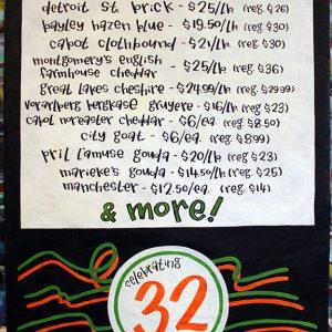 Celebrating32yrsCheese