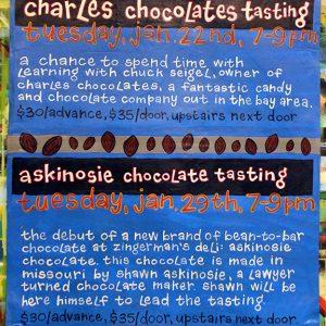 CharlesAndAskinosieChocolateTastings