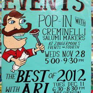 CreminelliSaumiMakersPOPINBestOf2012Tastings