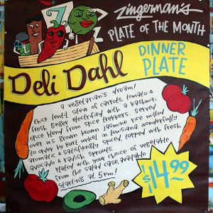 DeliDahlDinnerPlate