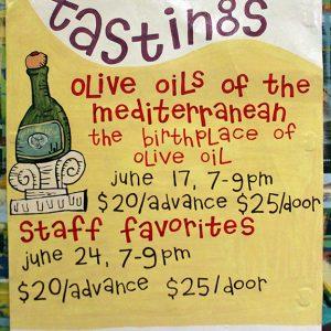 OliveOilsAndStaffFavoritesTastingsJUN