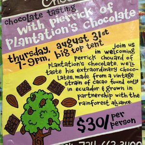 PlantationsChocolateTastingAUG