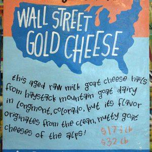 WallStreetGoldCheese