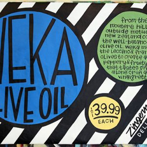 Weka Olive Oil Poster