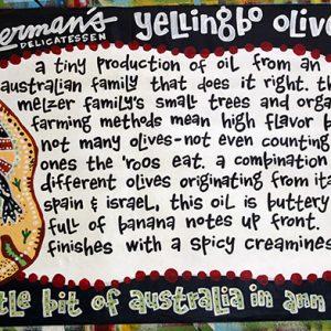 Yellingbo Olive Oil Poster