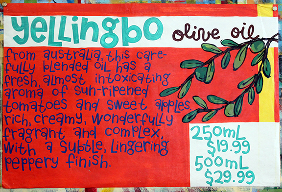 Yellingbo Olive Oil Poster