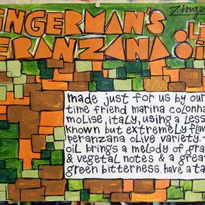 Zingerman's Peranzana Olive Oil Poster