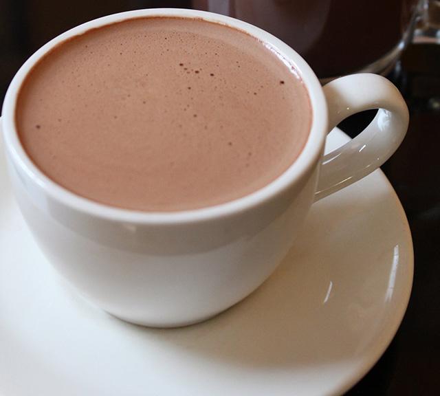 Mug of Kama Sutra cocoa