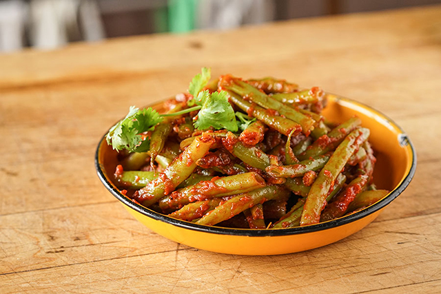 Green Beans dish
