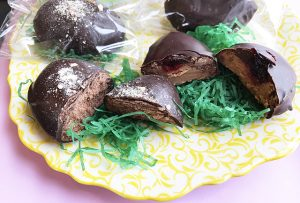 Fudge Eggs Easter Treats