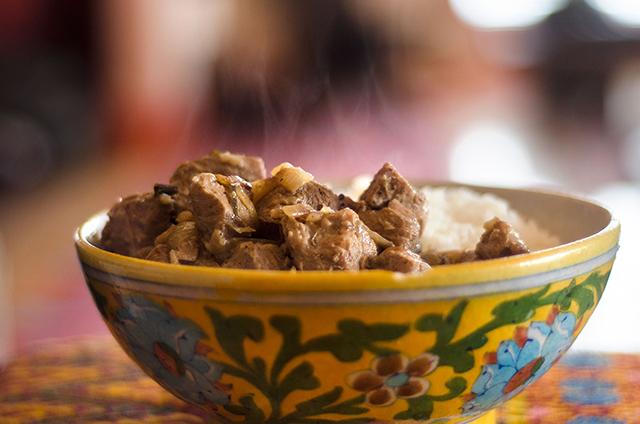 Black Curry Pork