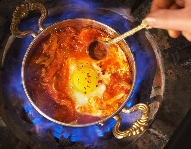 Menemen Egg & Vegetable Ragout