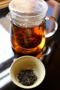 Pot of Zingerman's Tea