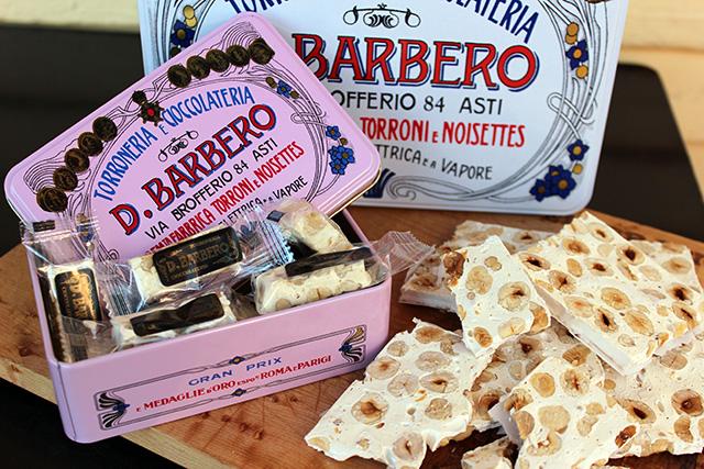 Zingerman's D.Barbero Torrone Tins