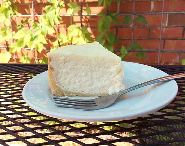 Zingerman's New York Cheesecake Slice