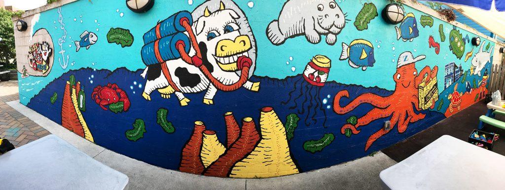 Kids Play Area Mural