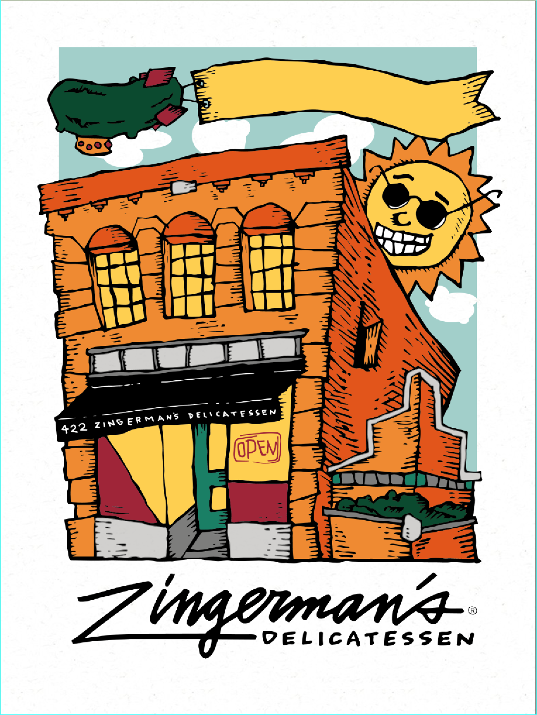 Customizable Pickle Poster from Zingerman's Deli