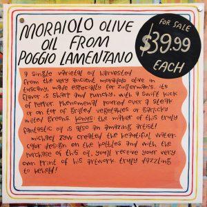 MoraioloOliveOilFromPoggioLamentanoAPR2017
