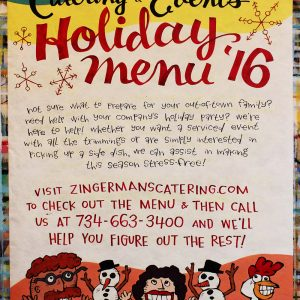 ZingermansCateringAndEventsHolidayMenu2016APR2017