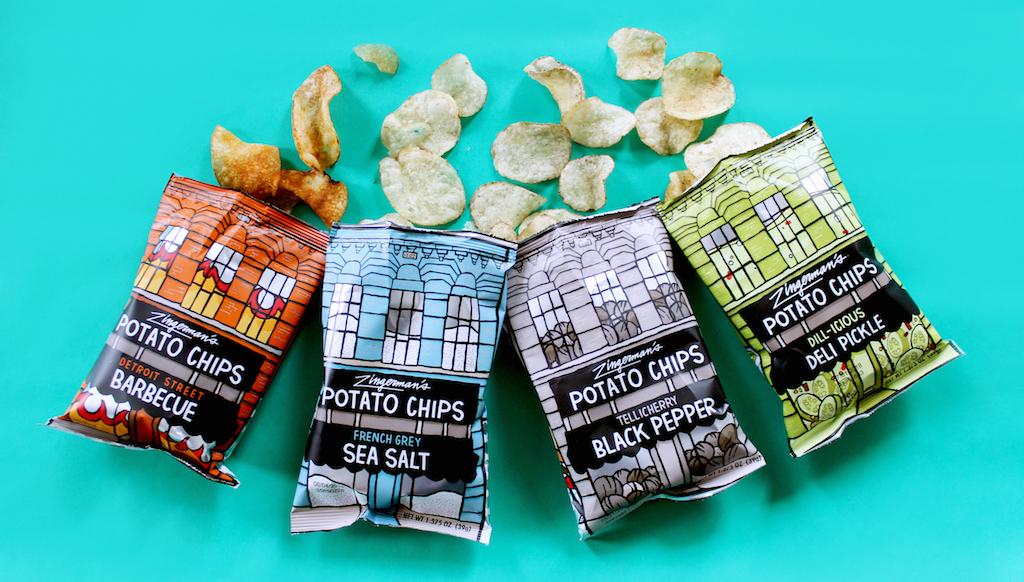 Zingerman variety of potato chips