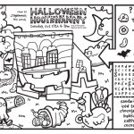 Deli Coloring Page October 2015