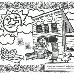 Deli Coloring Page July 2016