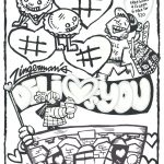 thumbnail of Feb Deli Loves You Placemat