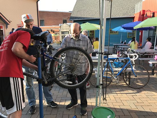 Common Cycle Bike Workshop at Zingerman's Deli