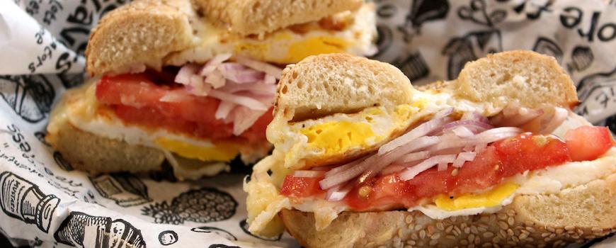 Becky's Backstage Breakfast or Brunch Sandwich near me at Zingerman's Deli