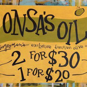 Olive oil onsas oil 2018