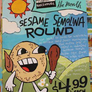 SesameSemolinaRoundBreadJUL2018