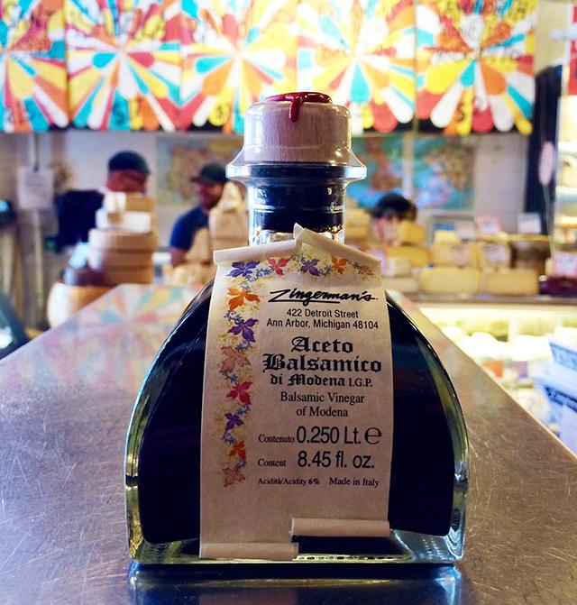 Bottle of Zingerman's 10 Year Balsamic Vinegar