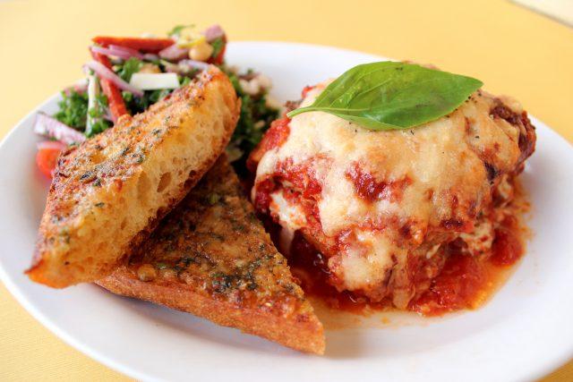 Zingerman's Deli Dinners A Go-Go Eggplant Parm Plate