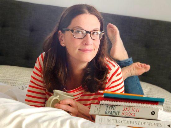 Author Lauren Ranalli with her books