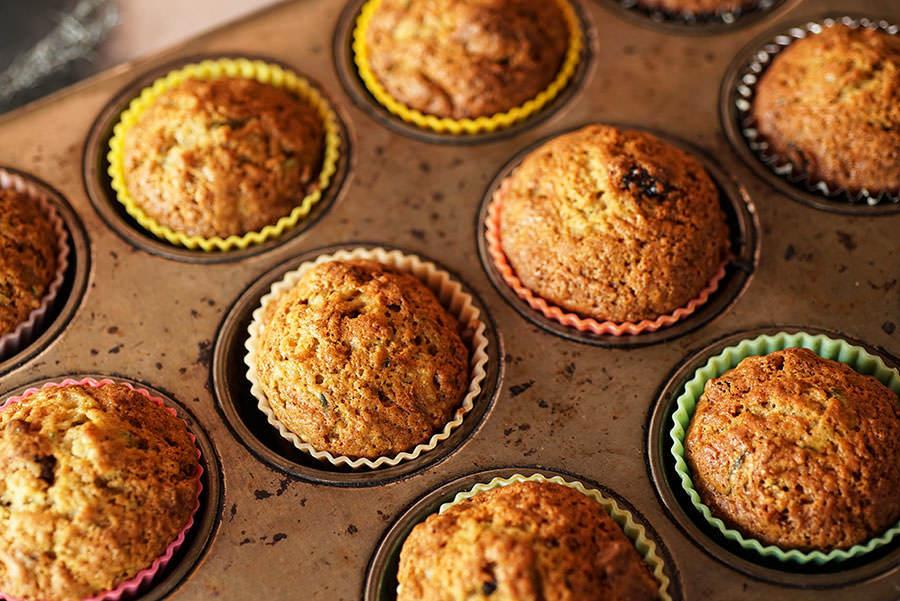 Epices de Cru photo of Apple Zucchini Muffins