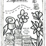 September 2018 Deli Coloring Page