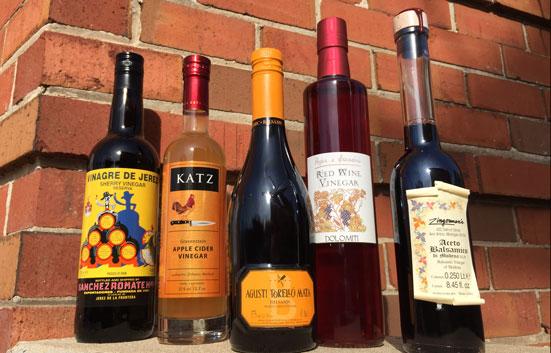 Zingerman's Vinegars Lined Up So Nice