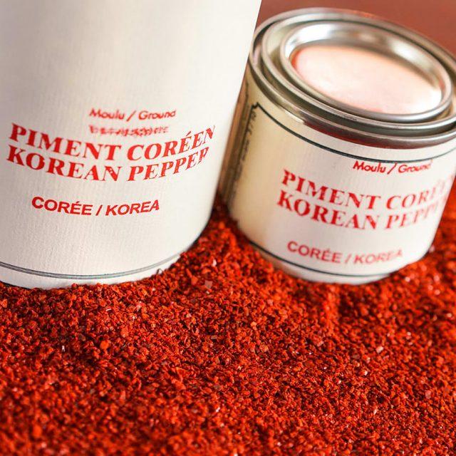 Épices de Cru Tins of Korean Red Pepper Flakes