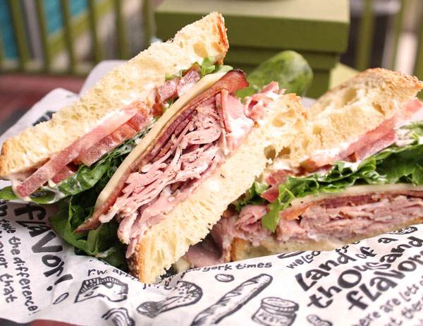 Zingerman's Bella's Bacon Backflip Sandwich of the Month
