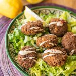 Chettinad Curry Falafel Recipe