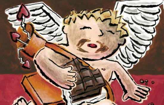 Zingerman's Cupid ate too much Valentine's day candy!