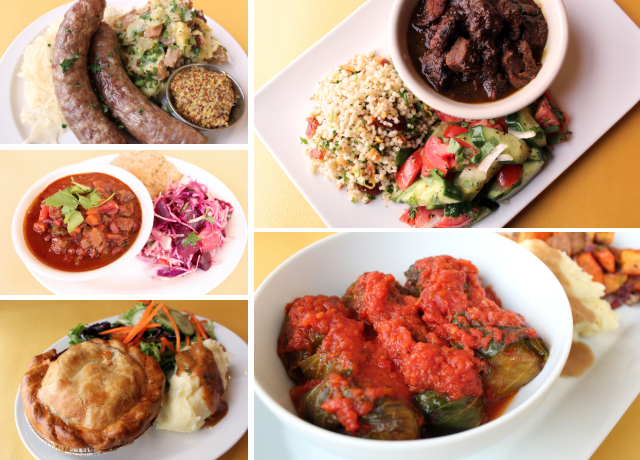 Zingermans Deli Dinners a go-go dinners collage