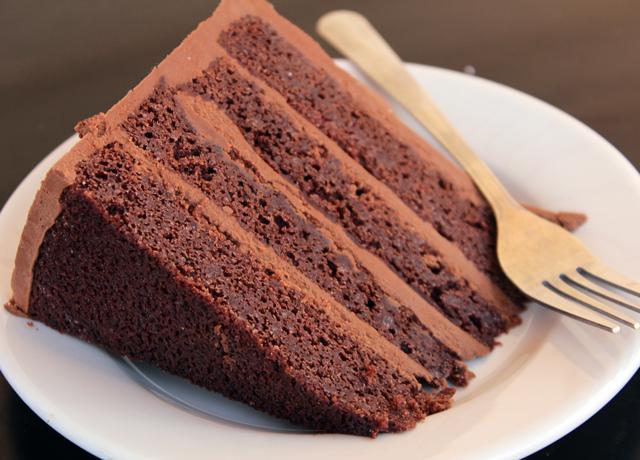 Zingermans Bakehouse Hunka Burnin Love cake slice