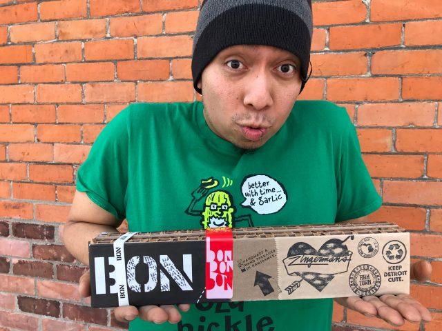 Zingermans Bon Bon Bon Valentines Box and Rico!