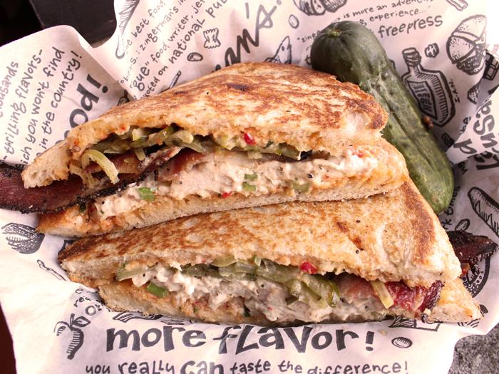 Deli Sandwich of the Month Michael's Party Fowl Chicken Salad Sandwich