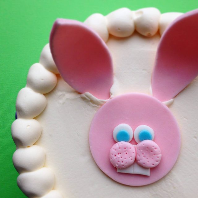Zingerman's Bakehouse Bunny Cake looking from above!