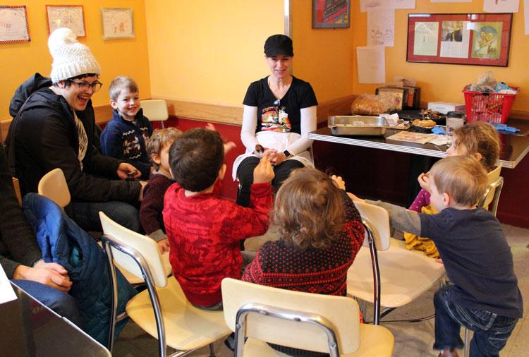 Zingerman's Just for Younger Kids tasting in the Next Door Cafe